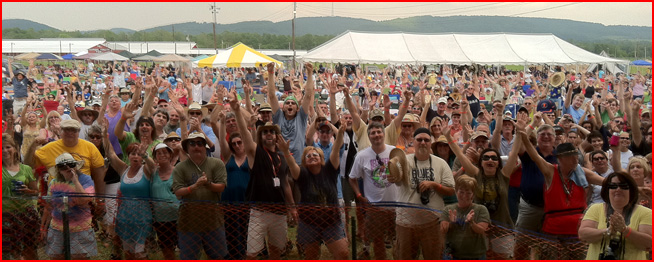 Billtown Blues Festival - Laurie Morvan took this photo from the stage