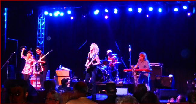 Laurie Morvan Band ignites the crowd at the Red, White & Blues Festival held at Feather Falls