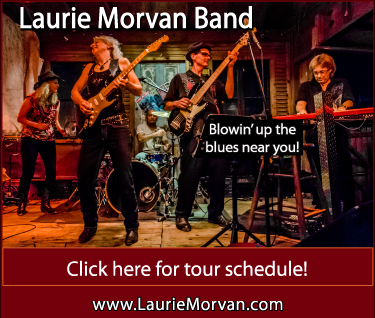 Laurie Morvan Band rocks the blues in the Midwest this week with shows near you!