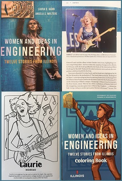 Women and Ideas in Engineering published by University of Illinois Press includes a section on Laurie Morvan