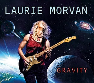 Gravity CD cover by Laurie Morvan