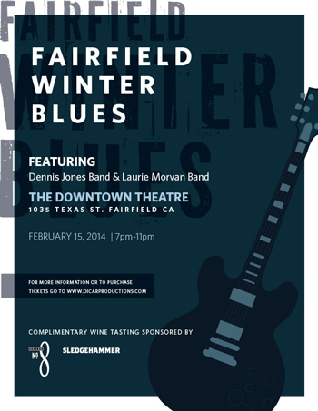 Fairfield Winter Blues in Fairfield CA event