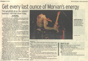 Laurie Morvan featured in Springfield News Leader