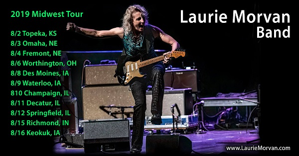 Laurie Morvan Midwest Tour 2019