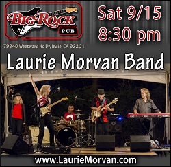 Big Rock Pub featuring Laurie Morvan Band on September 15, 2018