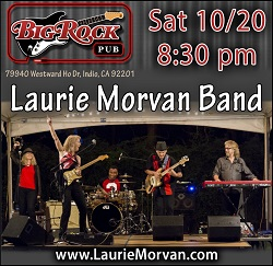 Laurie Morvan Band at Big Rock Pub on October 20, 2018