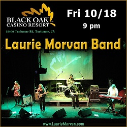 Black Oak Casino presents Laurie Morvan Band on October 18 2019