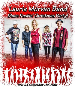Christmas party with the Laurie Morvan Band