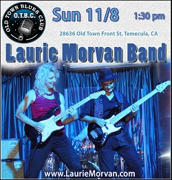 Laurie Morvan Band at Old Town Blues Club on November 8, 2020