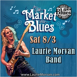 Omaha Market For Blues with Laurie Morvan Band