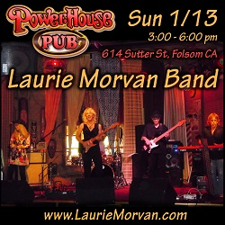 Laurie Morvan at Powerhouse Pub on January 13, 2019