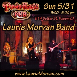 Powerhouse Pub on May 31, 2020 with the Laurie Morvan Band
