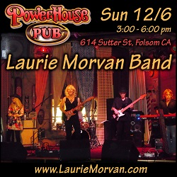 Powerhouse Pub on December 6, 2020 with the Laurie Morvan Band