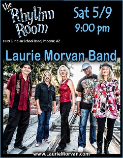 Laurie Morvan Band at the Rhythm Room in Phoenix, AZ on May 9,2020