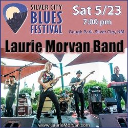 Laurie Morvan Band returns to Silver City Blues Festival on May 23 2020
