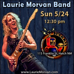 Laurie Morvan Band at Sparkys in Hatch, NM on May 24 2020