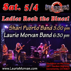 Swabbies in Sacramento to host Laurie Morvan Band on May 4 2018