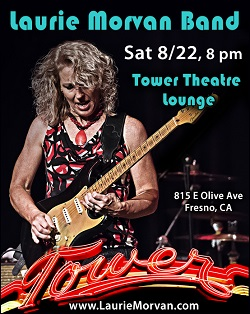 Laurie Morvan Band at the Tower Theatre on August 22, 2020