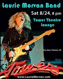 Tower Theater Lounge with Laurie Morvan on August 24 2019