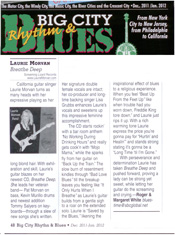 Big City Blues review of Breathe Deep by the Laurie Morvan Band