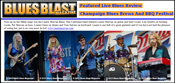 Blues Blast live show review of Laurie Morvan Band, 28 June 2013