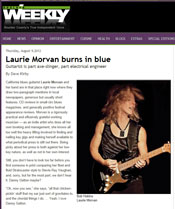Boulder Weekly feature article on Laurie Morvan, August 2012