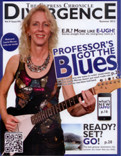 Laurie Morvan is on the cover of the Cypress Chronicle