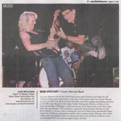 Illinois Times Band Spotlight Laurie Morvan Band