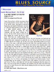 Fire It Up! cd review on Blues Source - Laurie Morvan Band