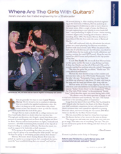 Illinois Alumni Magazine Feature Article Laurie Morvan