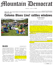 Mountain Democrat Coloma Blues Live! festival review
