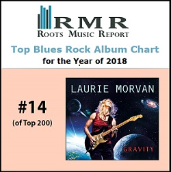Roots Music Report 2018 Top 200, Gravity is #14
