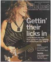 Sacramento Bee Entertainment Guide June 4 2010 Laurie Morvan